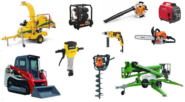 Equipment Rentals in Madison GA