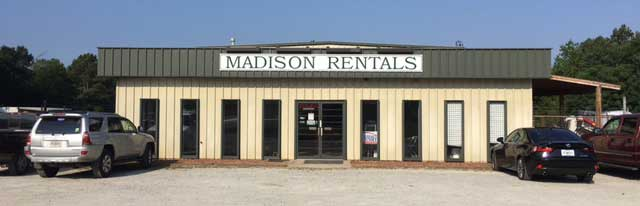 Equipment rentals in Madison Georgia, Lake Oconee, Eatonton, Greensboro, Social Circle GA