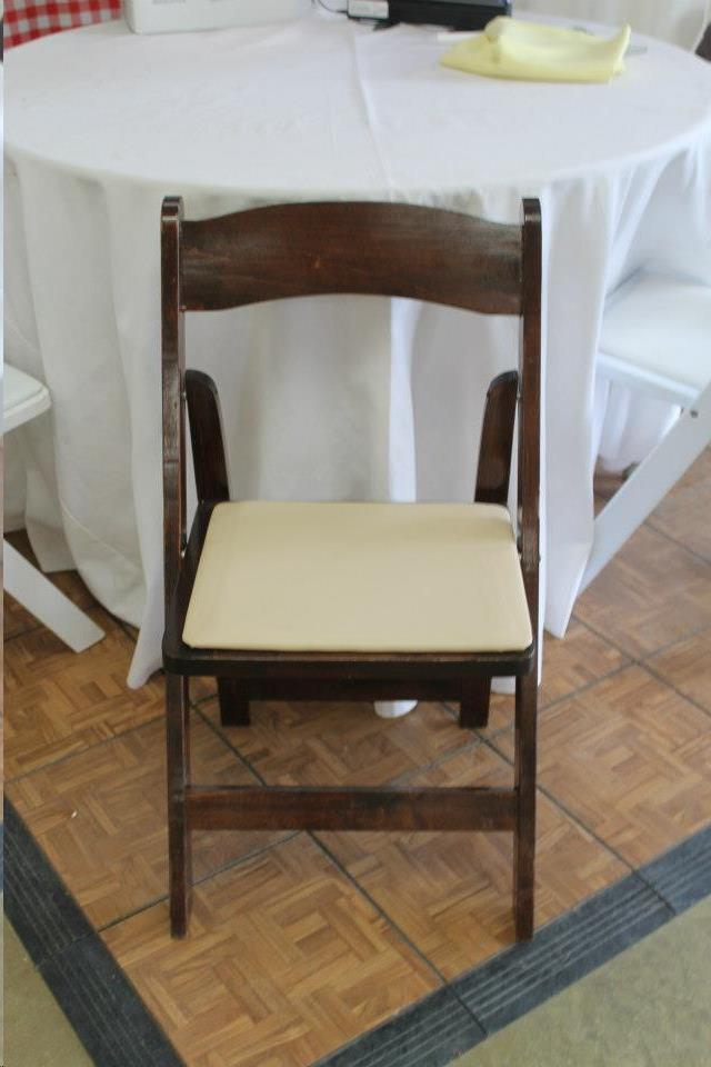 Where to find FRUITWOOD CHAIR W PAD SEAT in Madison