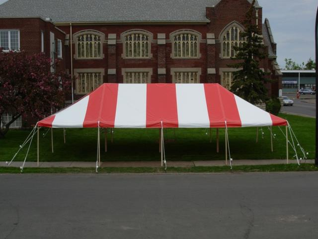 Where to find 20 X 20 POLE TENT SELF INSTALL in Madison